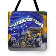 Brazil's Ayrton Senna Tote Bag