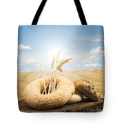 Bread And Wheat Ears. Tote Bag by Deyan Georgiev