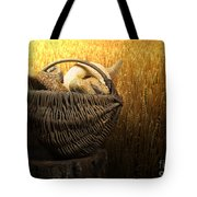 Breads And Wheat Cereal Crops Tote Bag