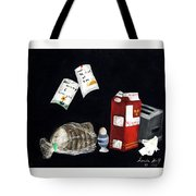 Breakfast At Six O'clock Tote Bag