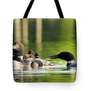 Loon Mom Serves Breakfast In Bed Tote Bag