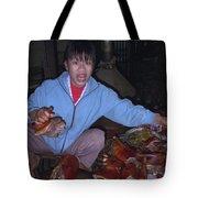 Breakfast In China Tote Bag