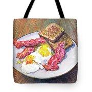 Breakfast Is Served Tote Bag