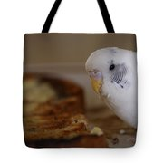 Breakfast Negotiations Tote Bag