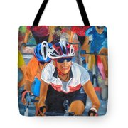Breaking Away Tote Bag