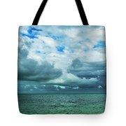Breaking Clouds In Key West, Florida Tote Bag