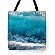 Breaking Wave At Kekaha Beach Tote Bag
