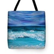 Breaking Waves Tote Bag