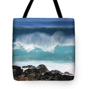 Breaking Waves Tote Bag