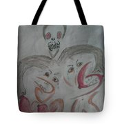 Breast Cancer Monster Tote Bag