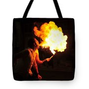 Breath Of Fire Tote Bag
