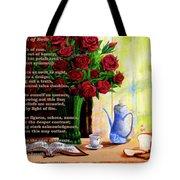 Breath Of Rose Tote Bag