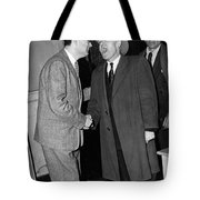 Breath Smelling Doorman Tote Bag