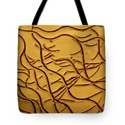 Breathe - Tile Tote Bag