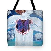 Breathe Deep Tote Bag by Lisa Brandel