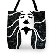 Breathe Out Tote Bag