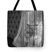 Breeze - Black And White Tote Bag