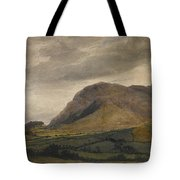 Breidden Hill In The Welsh Borders Tote Bag
