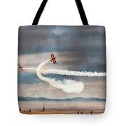Breitling Wingwalker Biplanes Tote Bag