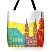 Bremen Skyline Pop Tote Bag