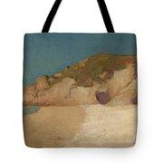 Breton Coastline Tote Bag