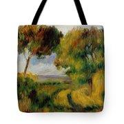 Breton Landscape Trees And Moor 1892 Tote Bag