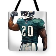 Brian Dawkins - Philadelphia Eagles Tote Bag
