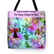 Brian Exton Celestial Flowers  Bigstock 164301632  2991949 Tote Bag