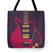 Red Special Guitar - Black Tote Bag