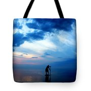 Brian's Evening Workout 5  Tote Bag