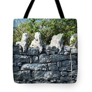 Briars And Stones New Quay Ireland County Clare Tote Bag