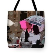 Bribane In The Rain #2 Tote Bag