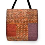 Brick Abstract Tote Bag