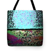 Brick And Cement Landscape Tote Bag