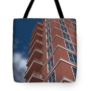 Brick Building  Tote Bag