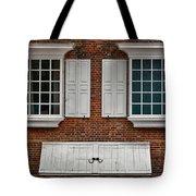 Brick Face Tote Bag