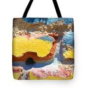 Brick In Sun Tote Bag