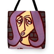 Brick Lady Tote Bag