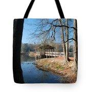 Brick Pond Park Tote Bag