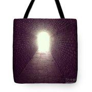 Brick Tunnel  Tote Bag