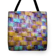 Brick Wall In Abstract 499 S Tote Bag