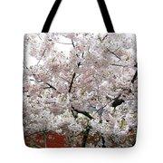 Bricks And Blossoms Tote Bag