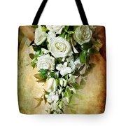 Bridal Bouquet Tote Bag by Meirion Matthias