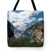 Bridal Veil Falls Rainbow Tote Bag
