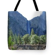 Bridal Veil Yosemite Tote Bag