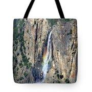 Bridalveil Falls From Above - Yosemite Tote Bag