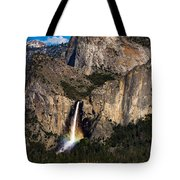 Bridalveil Falls Rainbow #3 Tote Bag