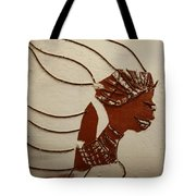 Bride 12 - Tile Tote Bag