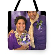 Bride And Aunt  Tote Bag