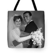 Bride And Groom, C.1960s Tote Bag